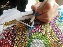 Алмазная живопись как пользоваться