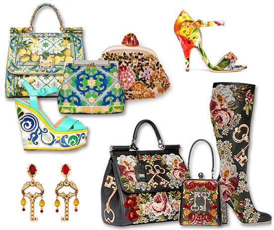 Dolce & Gabbana, sumki s vyshivkoj