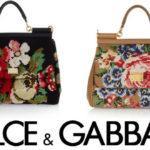 Dolce-Gabbana, sumki, vyshivka krestik