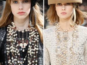 Moda, stil' SHanel', dve modeli
