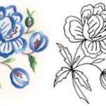uzor-dlya-vyshivki-gladyu-goluboj-cvetok