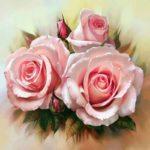 kartina-iz-almazov-tri-alye-rozy